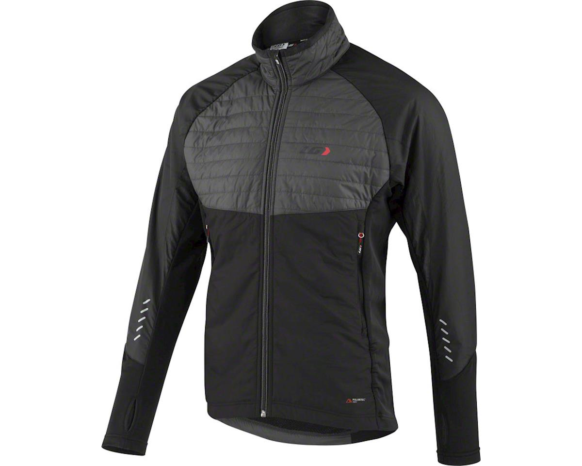 Louis Garneau Cove Hybrid Men's Jacket (Black/Gray)