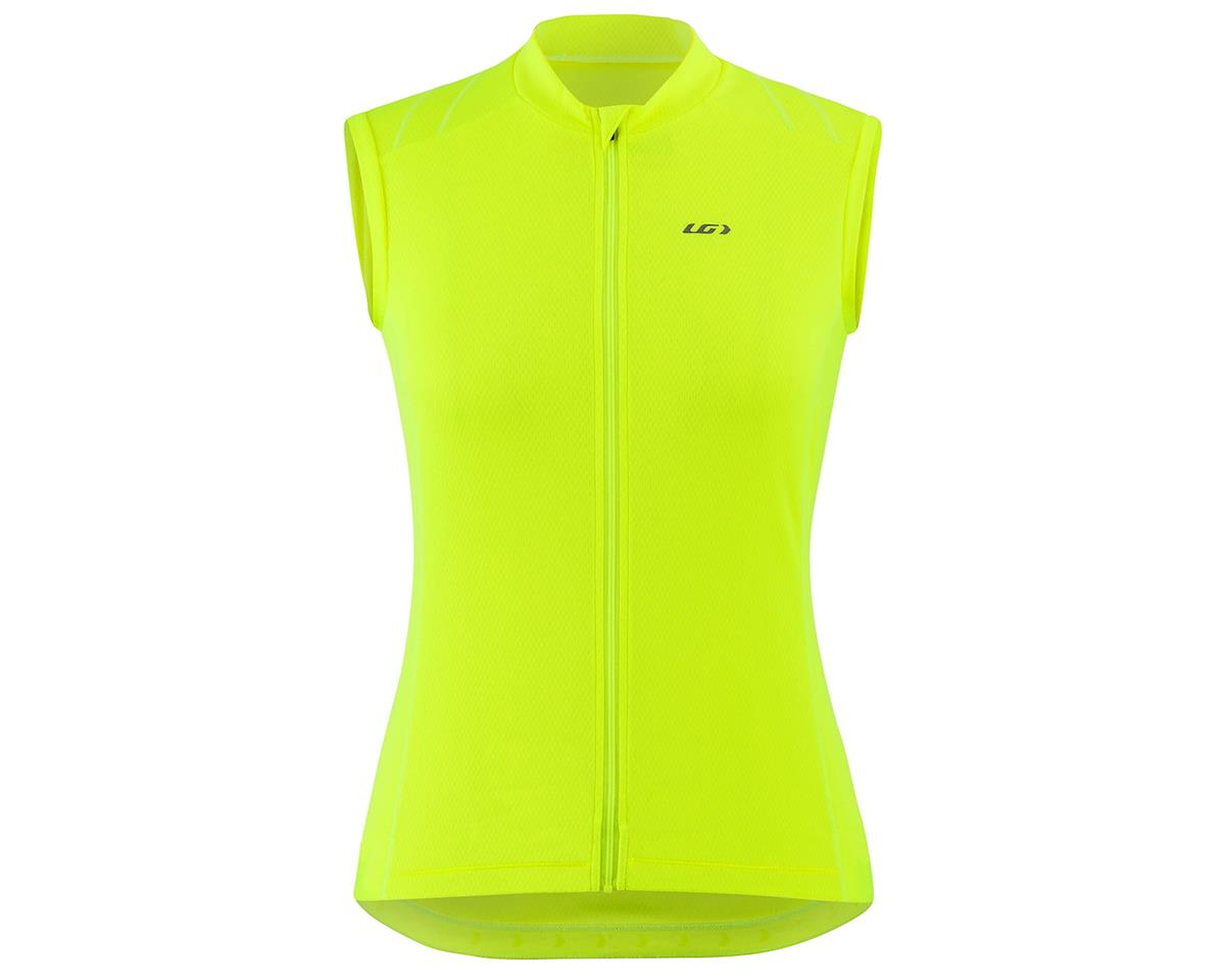 Louis Garneau Women's Breeze 3 Sleeveless Jersey (Bright Yellow) (S)