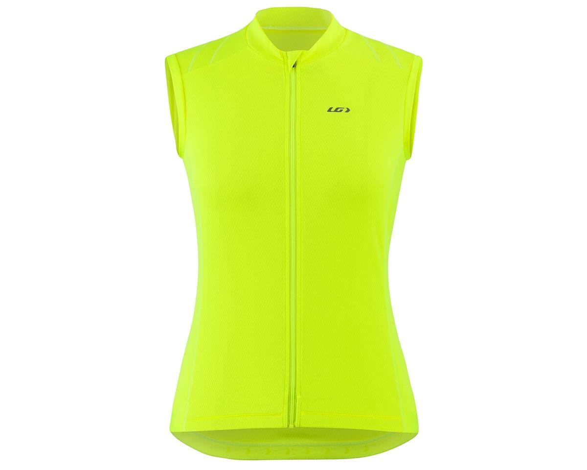 Louis Garneau Women's Breeze 3 Sleeveless Jersey (Bright Yellow) (XL)