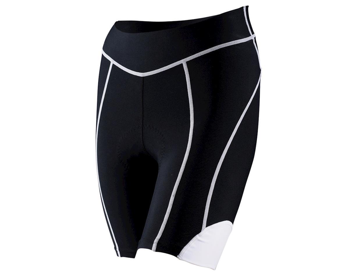 Louis Garneau Women's Neo Power Fit 7 Shorts (Black/White)