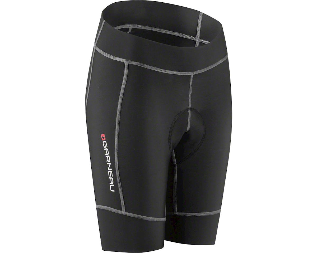Louis Garneau Request Promax Junior Girls Short (Black) (Kids XS)