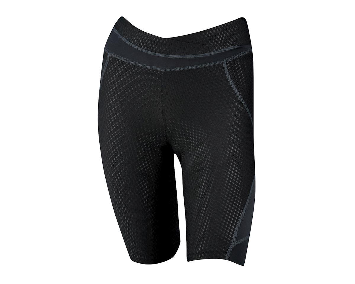 Louis Garneau Women's CB Carbon Lazer Shorts (Black) (XL)