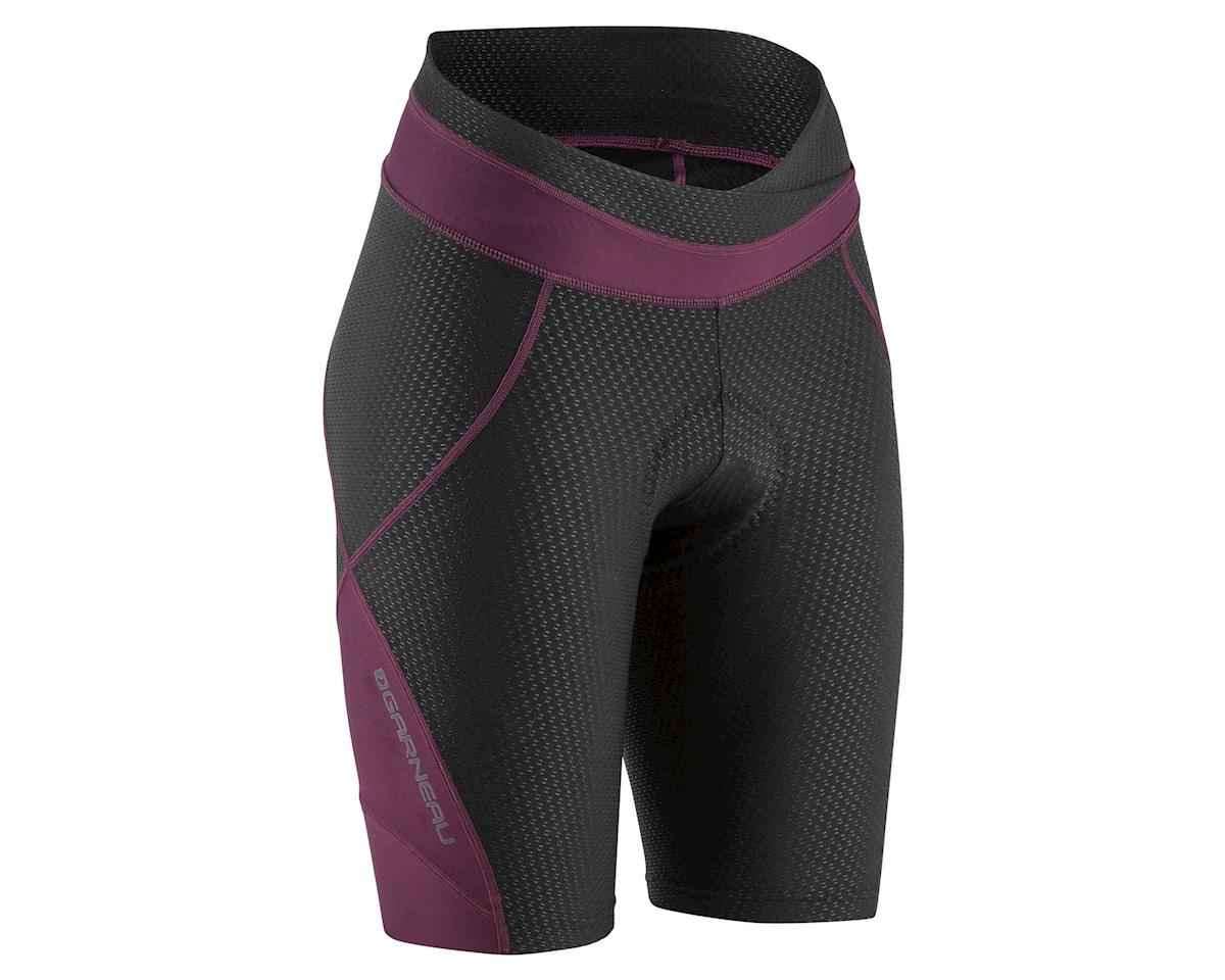 Louis Garneau Women's CB Carbon 2 Shorts (Black/Purple) (XL)