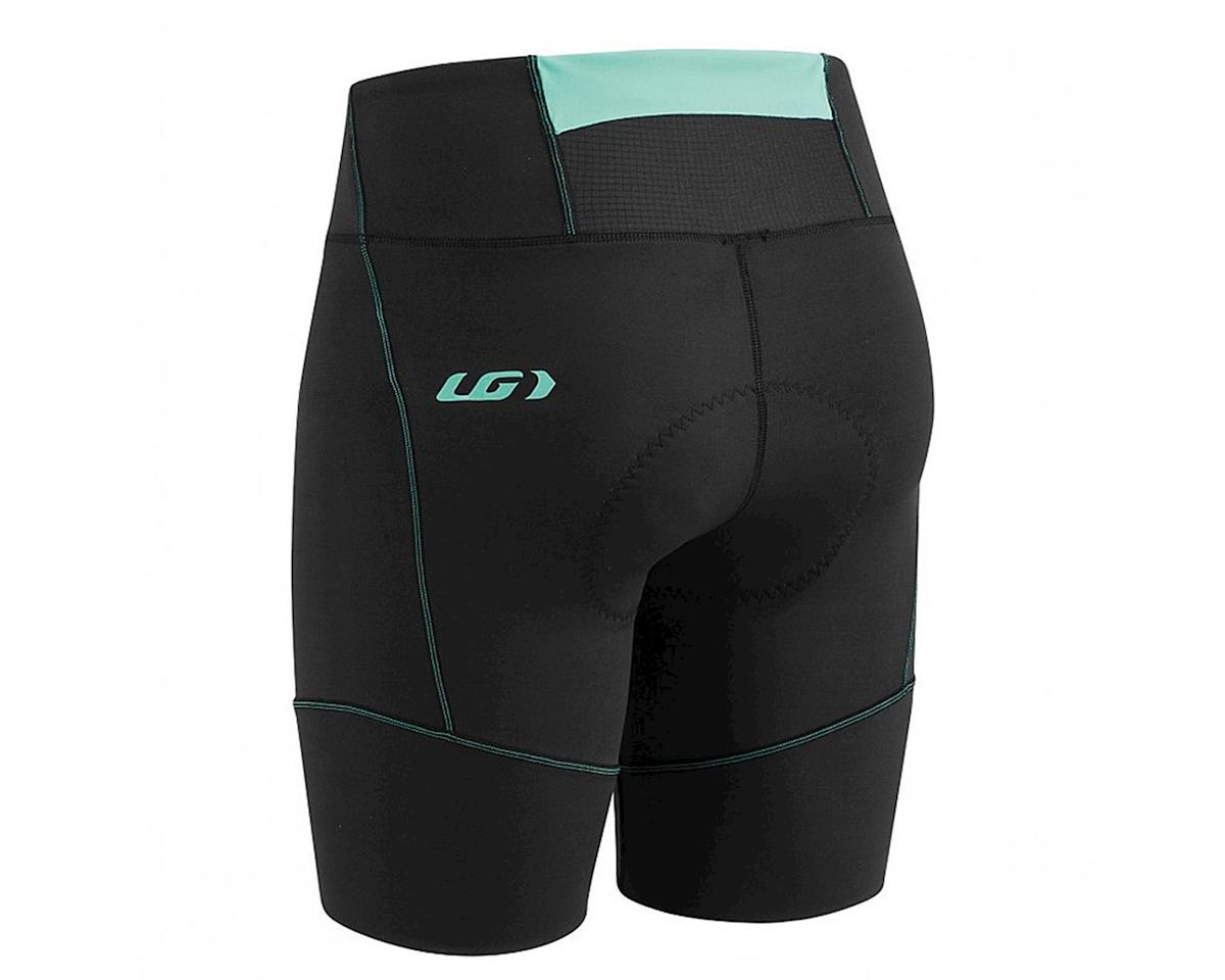 Louis Garneau Women's Tri Comp Triathlon Shorts (Black/Mint) (M)