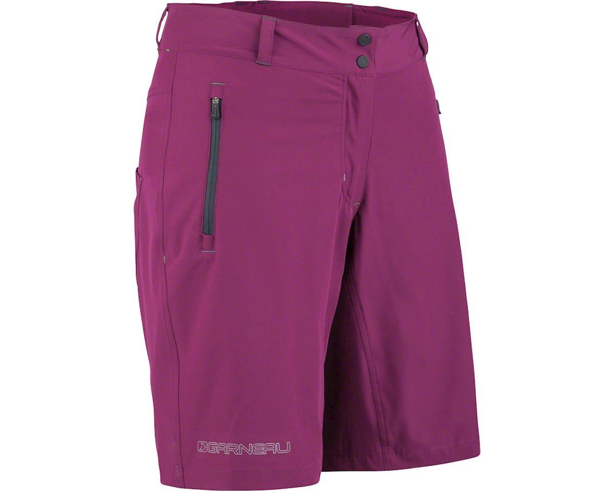 Louis Garneau Women's Latitude MTB Shorts (Magenta Purple) (2XL)