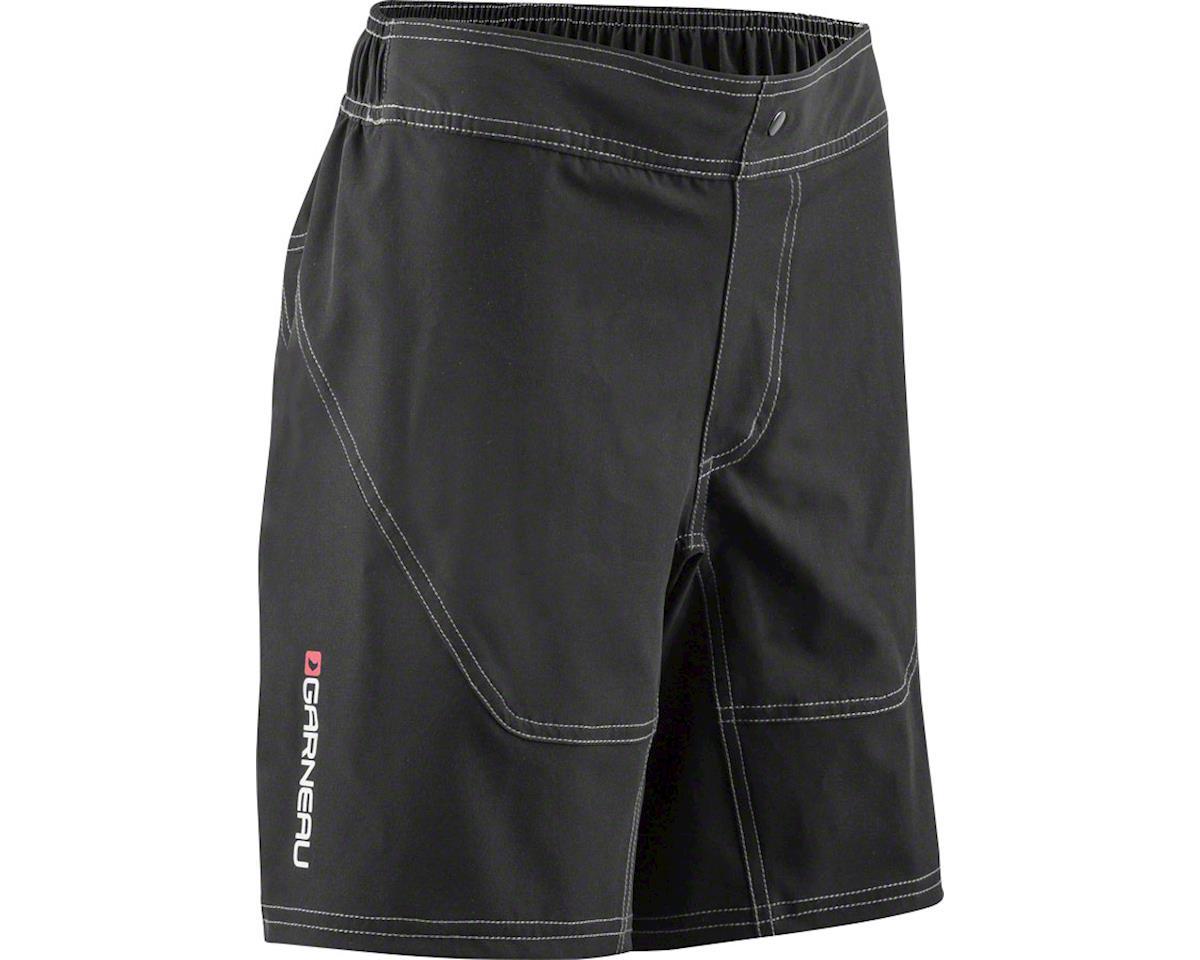 Louis Garneau Range Junior Short: Black JRXL