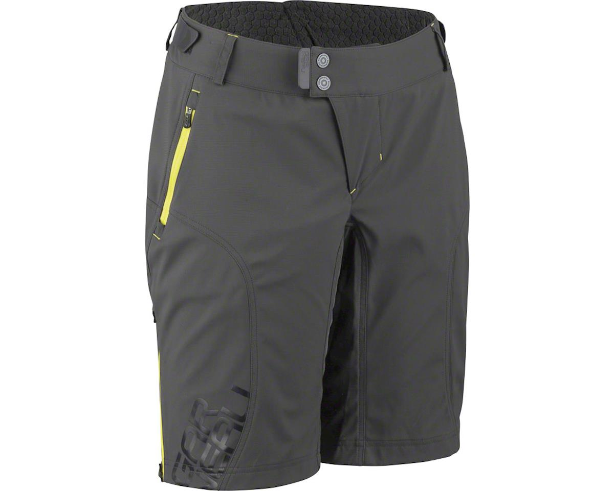 Louis Garneau Women's Off Season Shorts (Gray/Yellow) (XL)