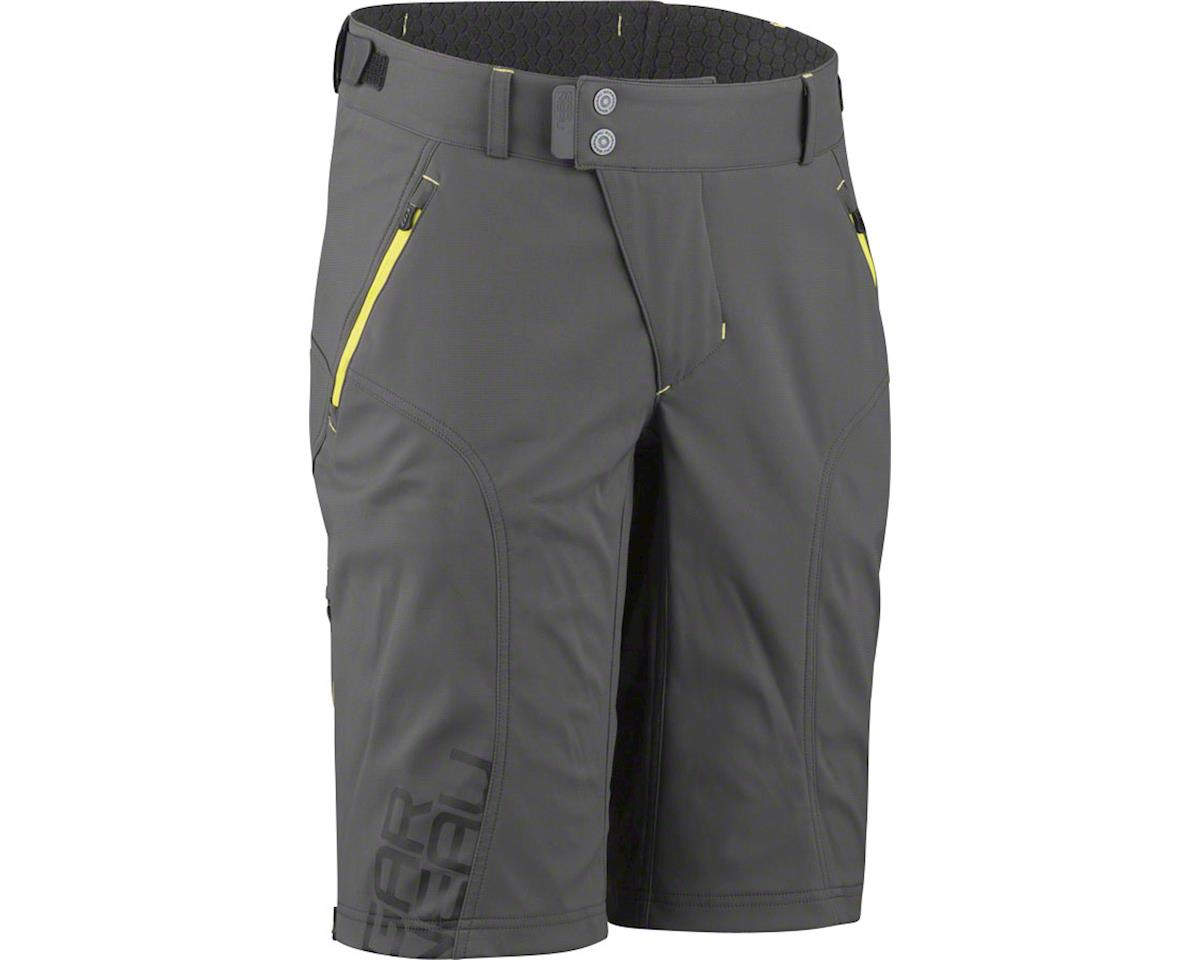 Louis Garneau Off Season Men's Short (Gray/Yellow)
