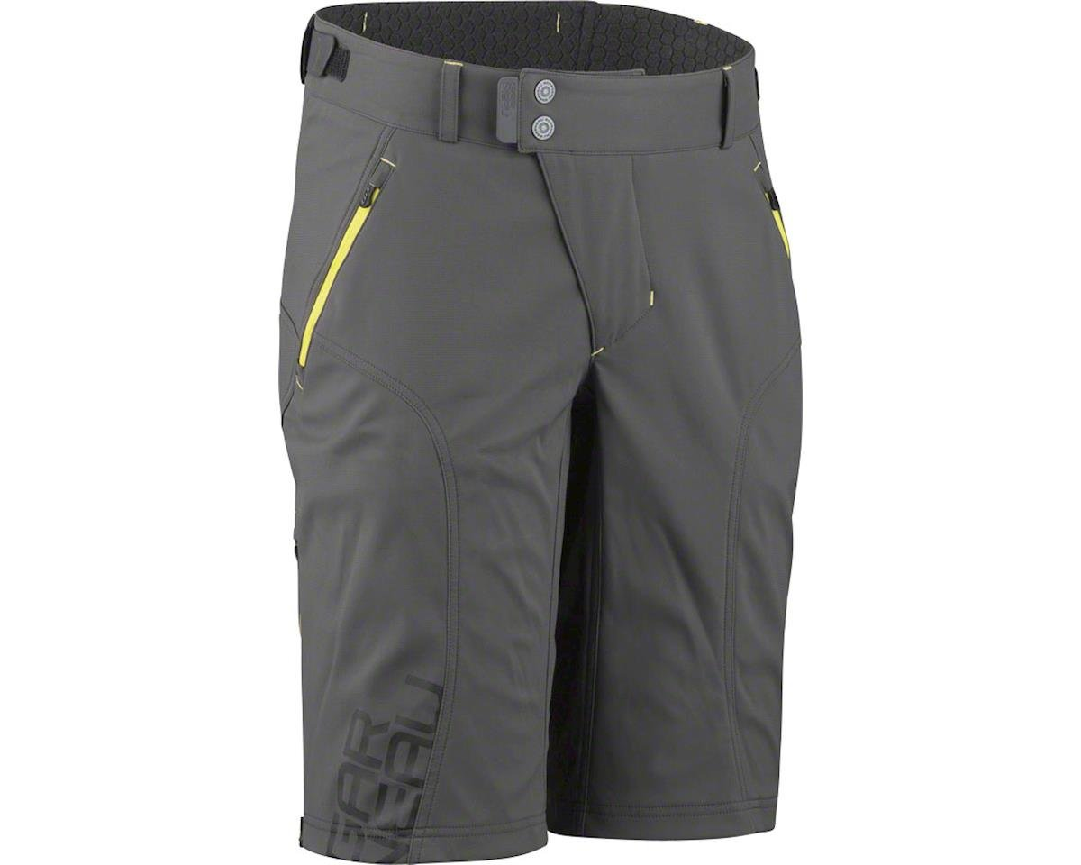 Louis Garneau Off Season MTB Short (Gray/Yellow) (XL)
