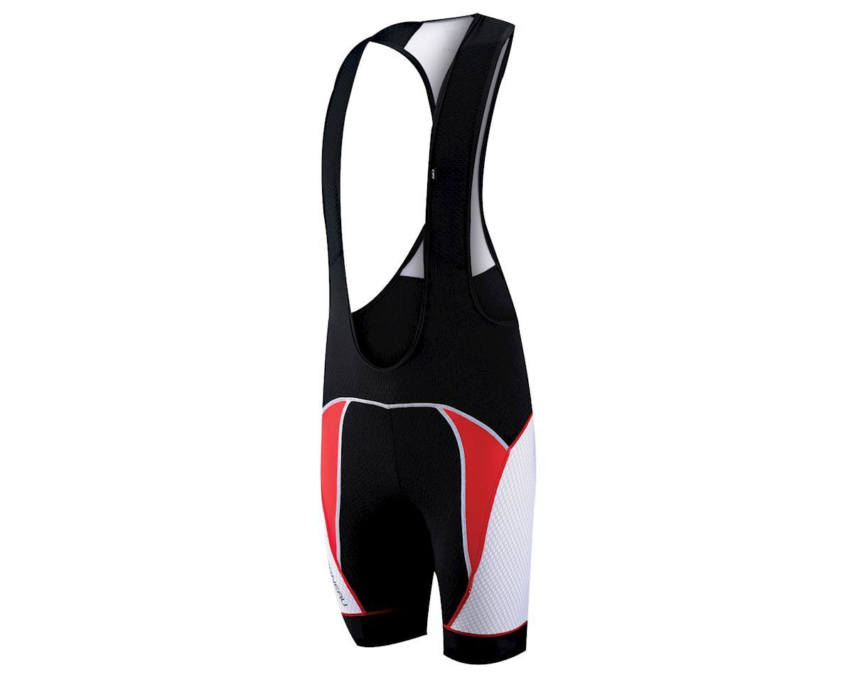 Louis Garneau CB Carbon Bib Shorts (Black/Red) (Xxlarge)