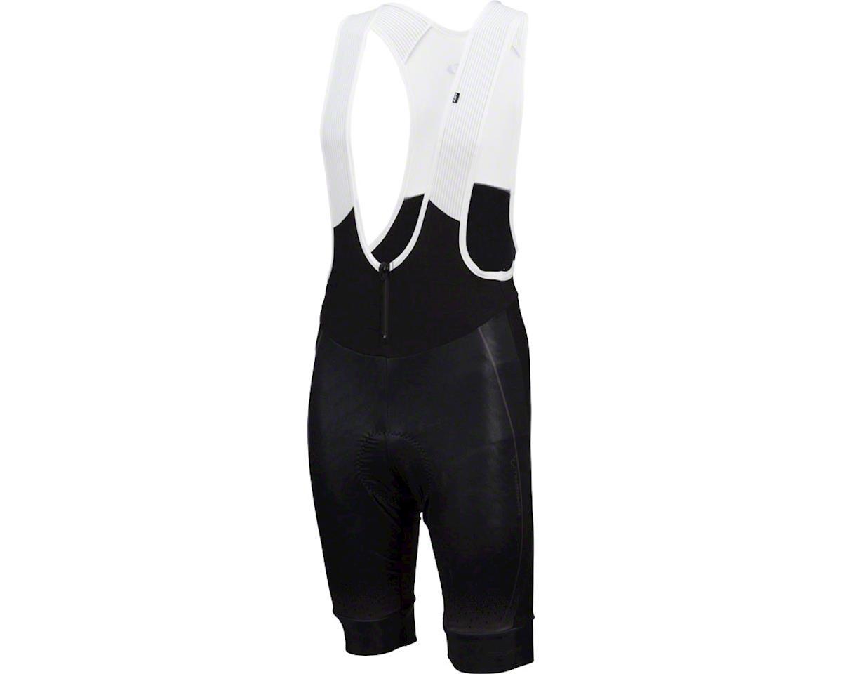 Louis Garneau Course Thermal Bib Shorts (Black/Grey) (XL)