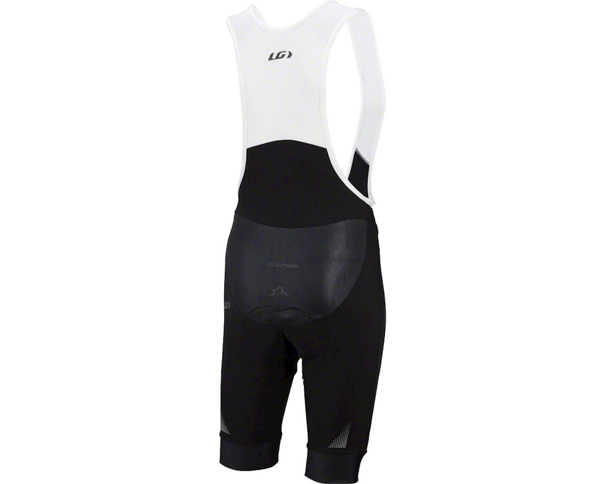Louis Garneau Course Thermal Bib Shorts (Black/Grey) (2XL)