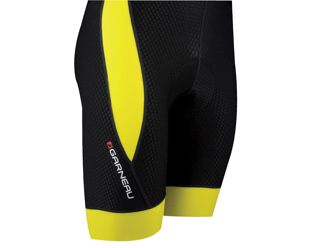 Louis Garneau CB Carbon 2 Bib Shorts (Black/Yellow) (Xxlarge)