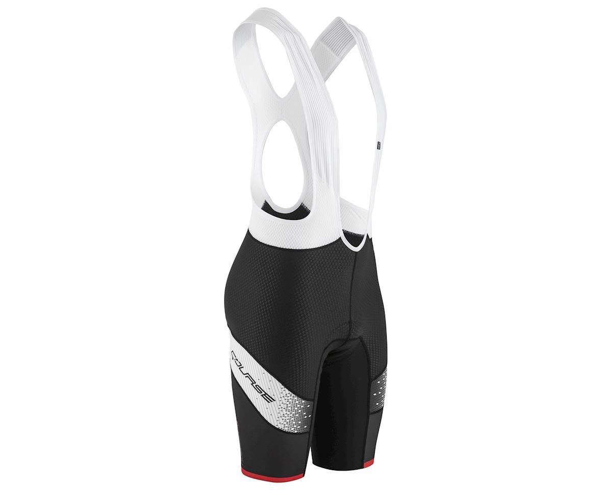 Louis Garneau CB Carbon Lazer Bib Shorts (Black/Asphalt) (Small)
