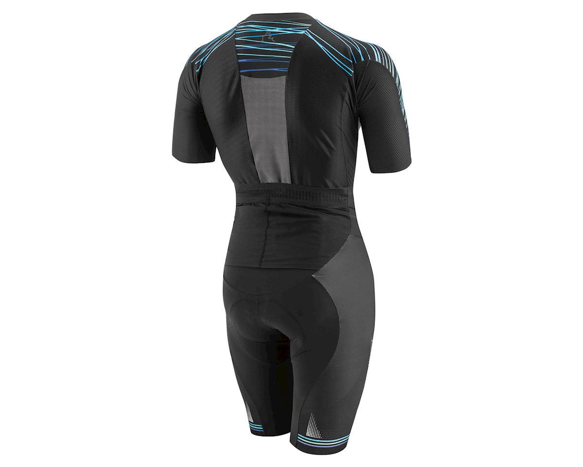 Louis Garneau Course LGneer Triathlon Skinsuit (Black/Blue/Green) (L)