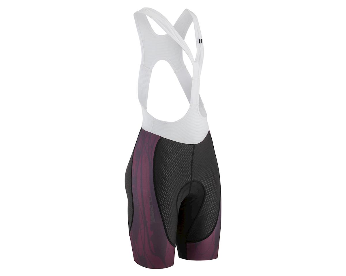 Louis Garneau Women's CB Carbon Lazer Bib Short (Black/Shiraz) (2XL)