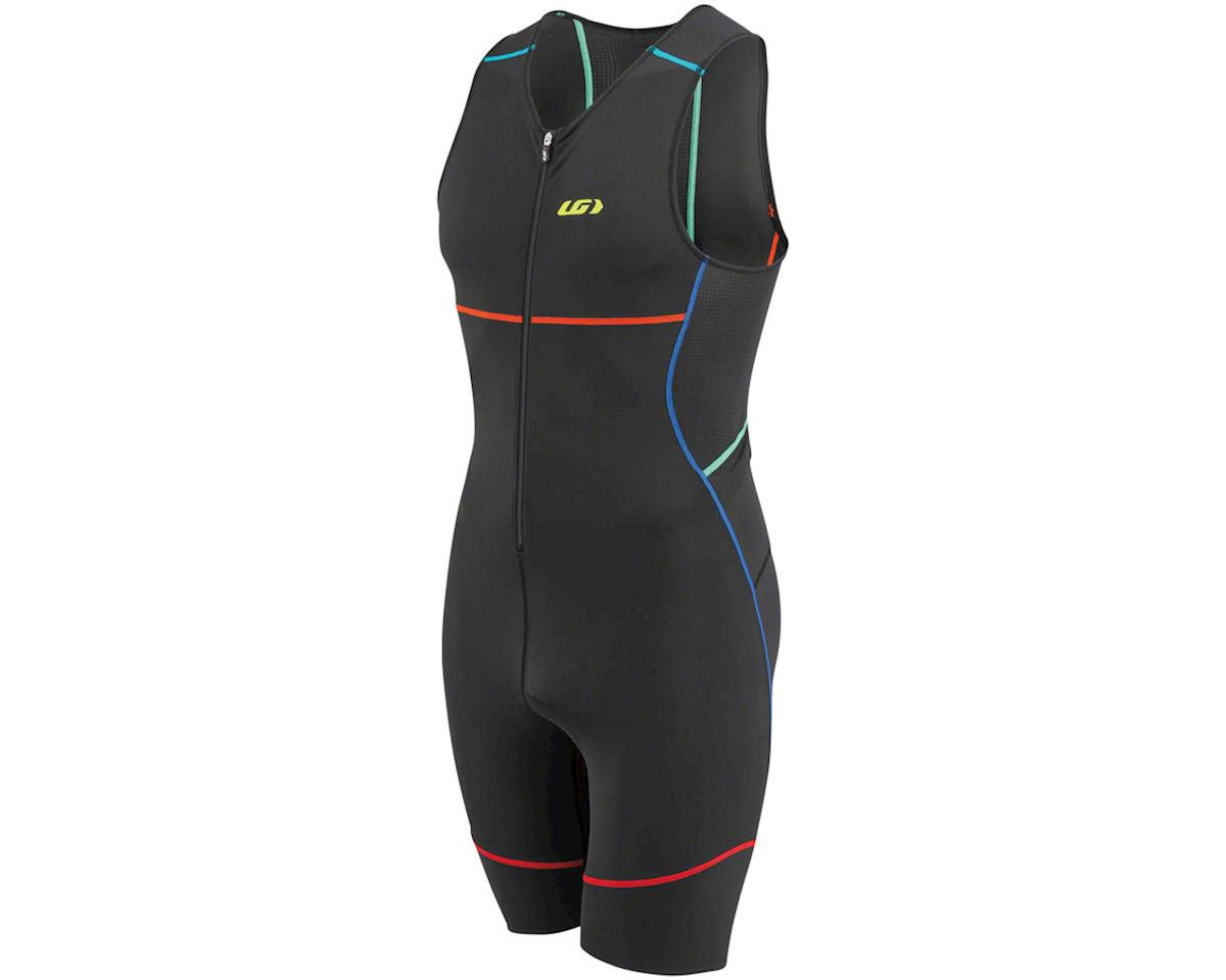 Louis Garneau Tri Comp Men's Skinsuit (Black/Mulitcolor)