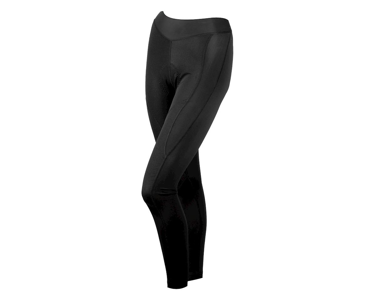 Image 1 for Louis Garneau Women's Solano Tights With Chamois (Black)