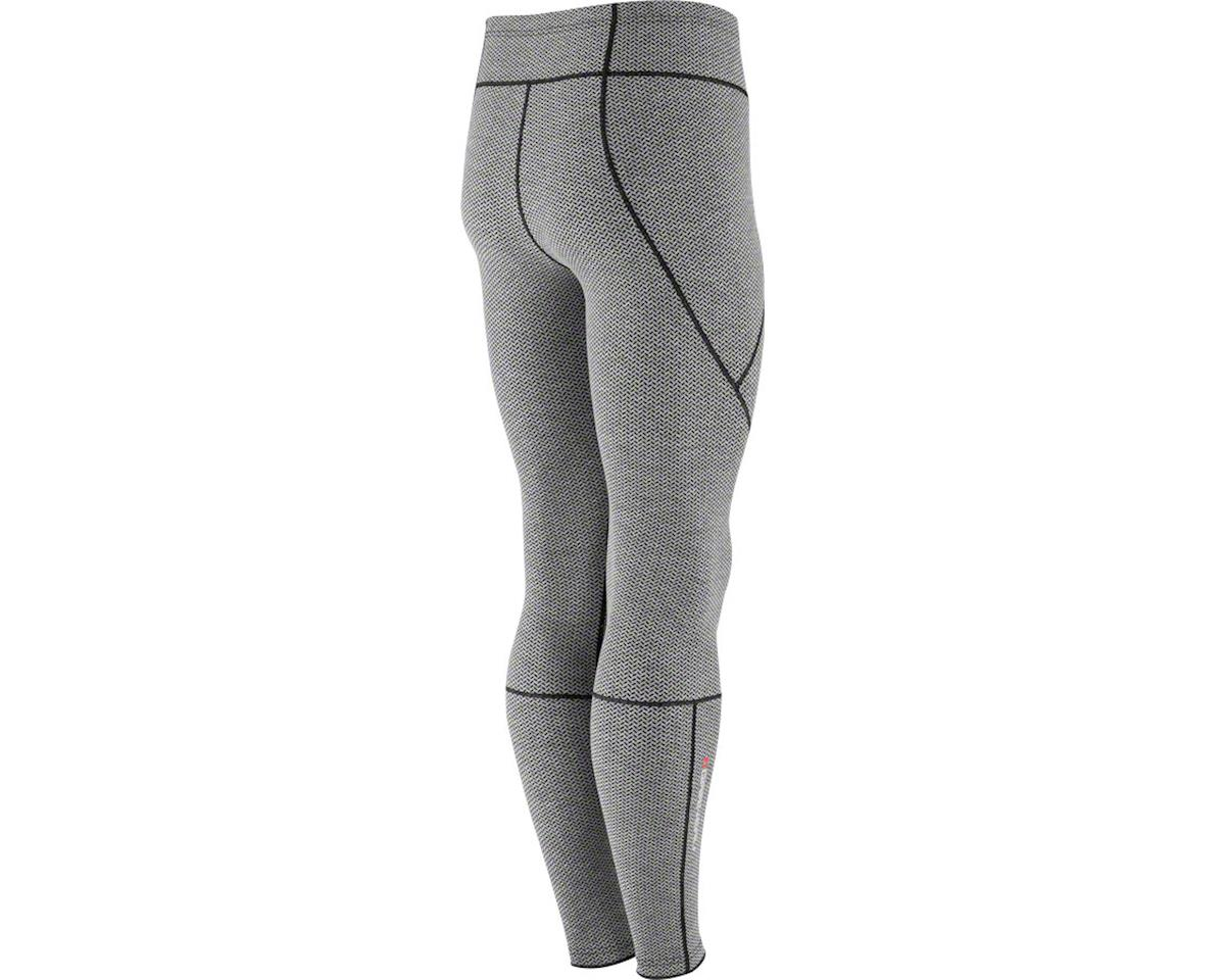 Louis Garneau Women's Stockholm Tights (Iron Gray/Pink Glow) (L)