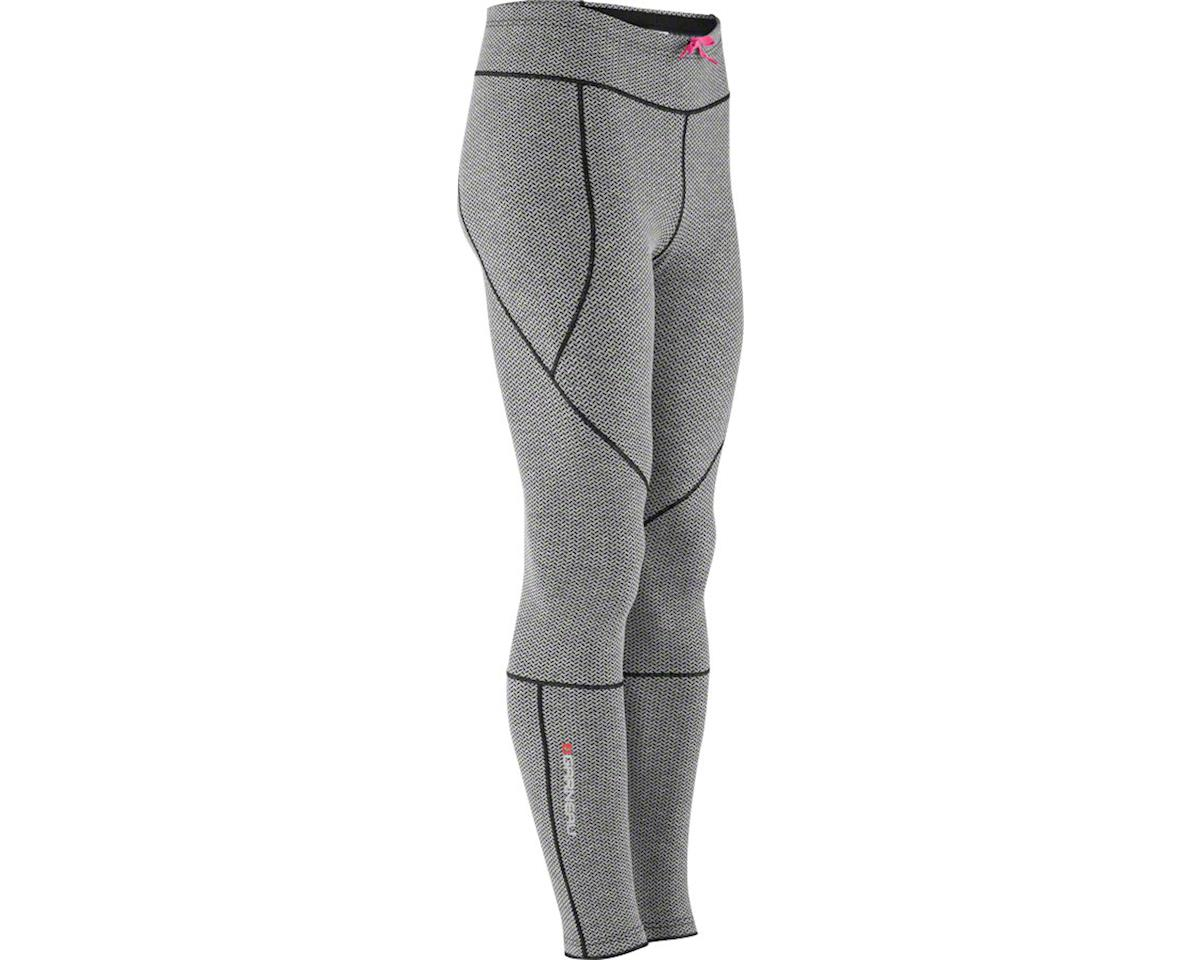 Louis Garneau Women's Stockholm Tights (Iron Gray/Pink Glow)