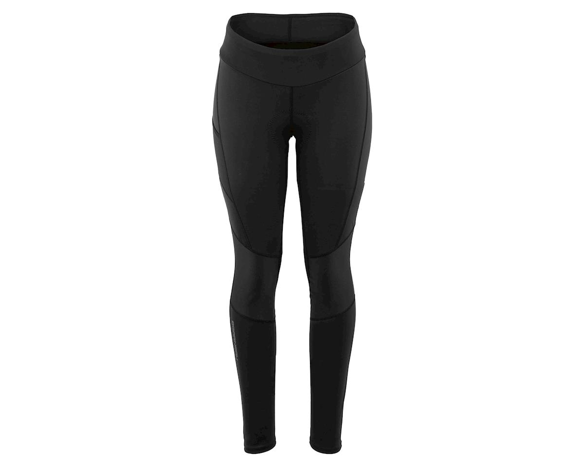 Louis Garneau Women's Solano Chamois Tights (Black) (XL)