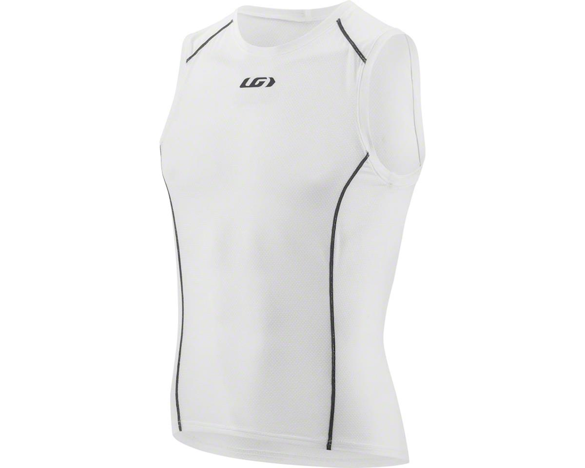 Louis Garneau Garneau Supra Sleeveless Base Layer Top: White SM (M)