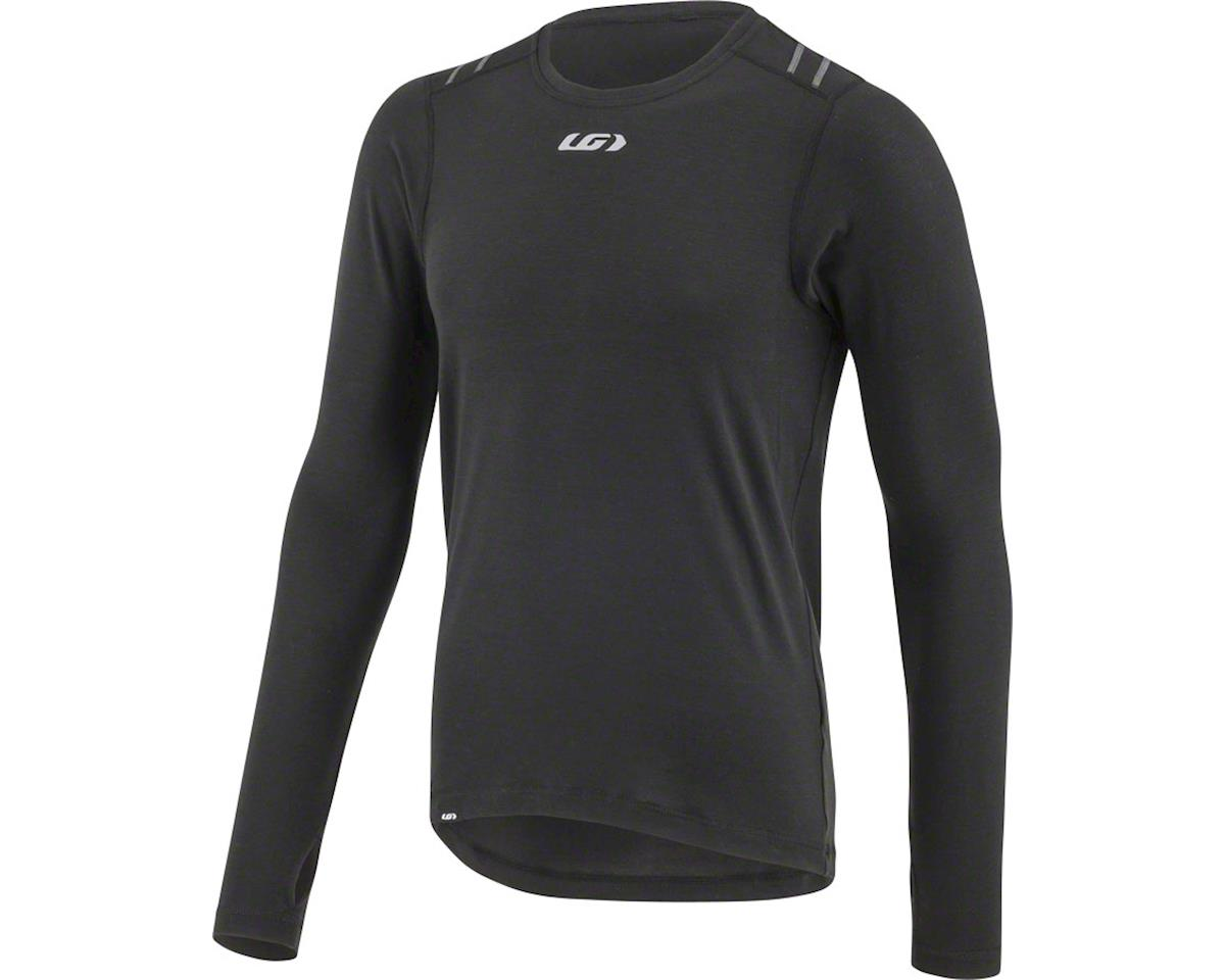 Louis Garneau 2004 Base Layer Top (Black) Long Sleeve