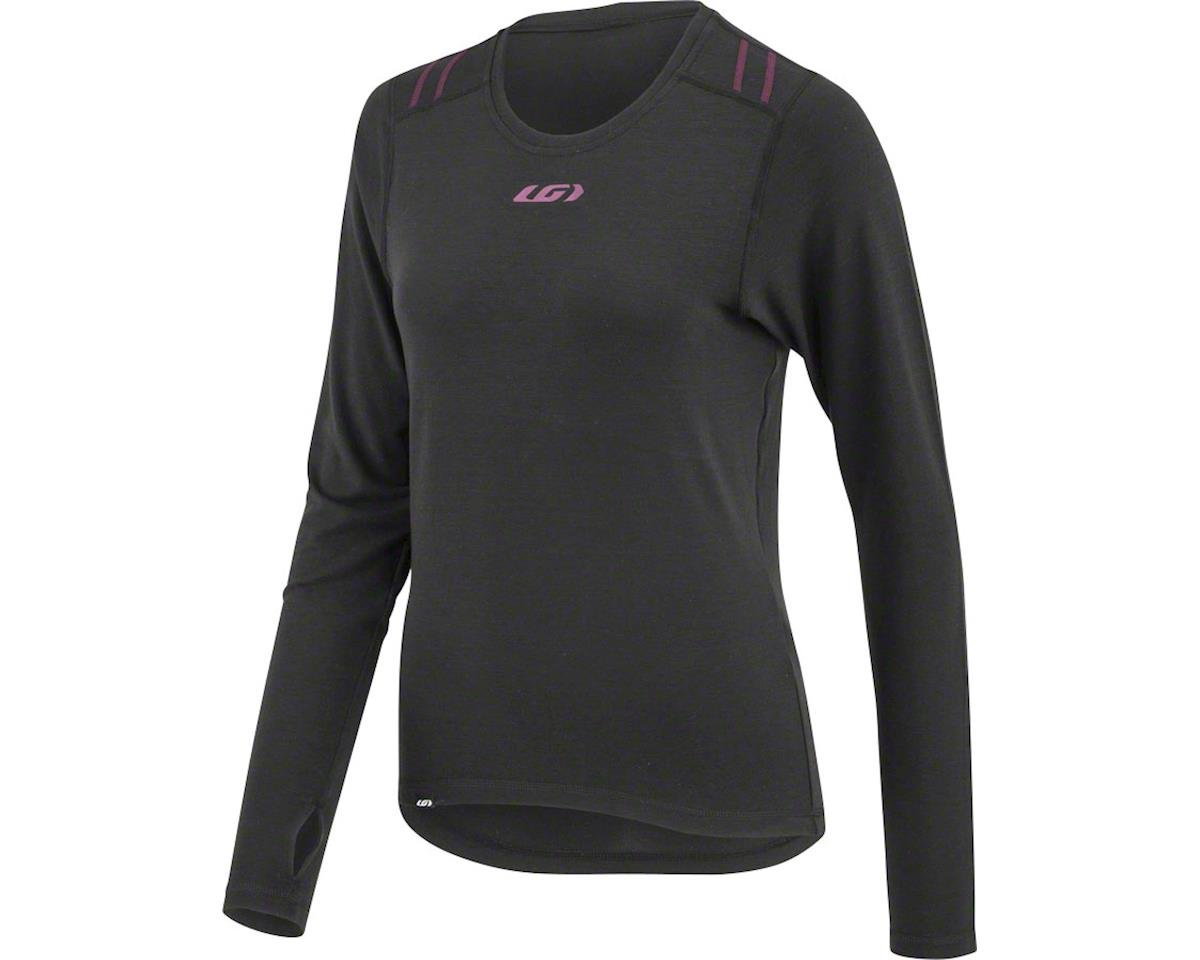 Louis Garneau Women's 2004 Base Layer Top (Black/Purple)
