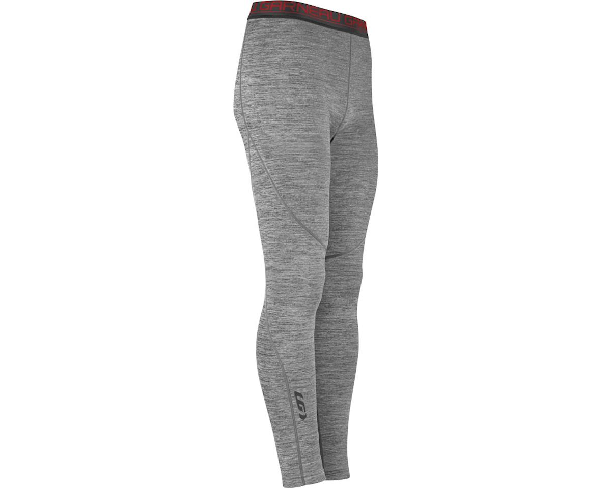 Louis Garneau 4002 Men's Base Layer Bottom Pants (Heather Gray)