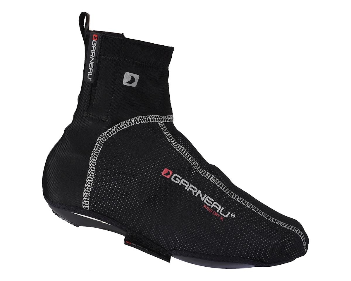 Louis Garneau Wind Dry SL Shoe Covers (Black) (Large 43.5-45)