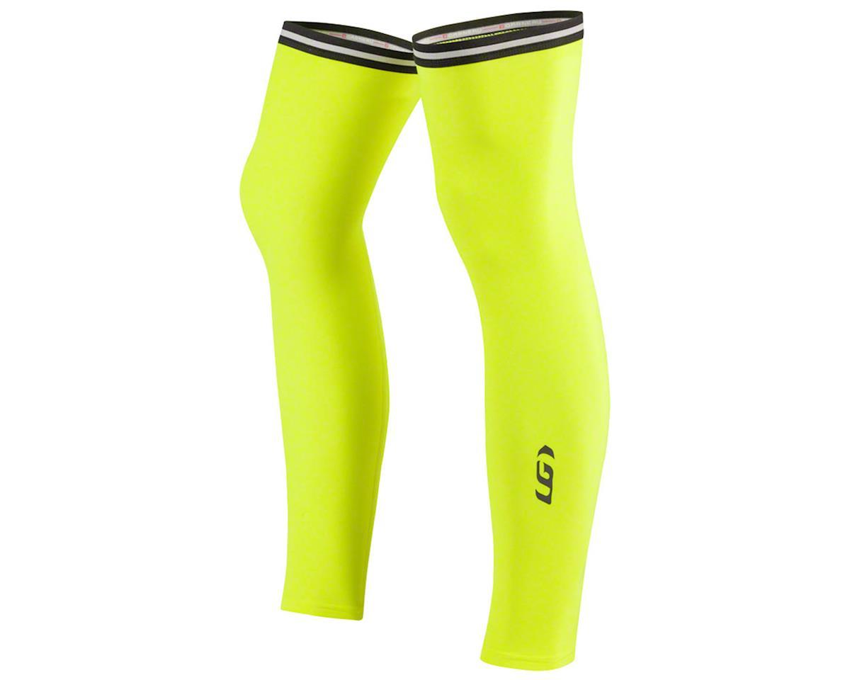 Louis Garneau Leg Warmers 2 (Hi-Vis Yellow) (L)
