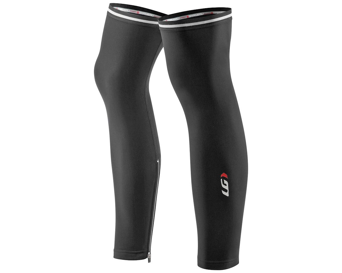 Louis Garneau Zip Leg Warmers 2 (Black) (XL)