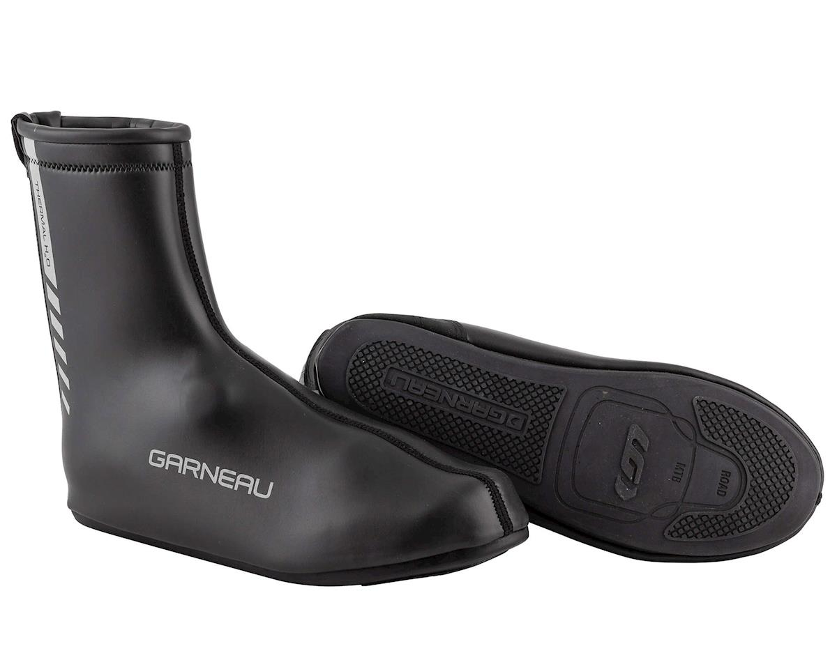 Louis Garneau Thermal H2O Shoe Covers (Black) (XL)