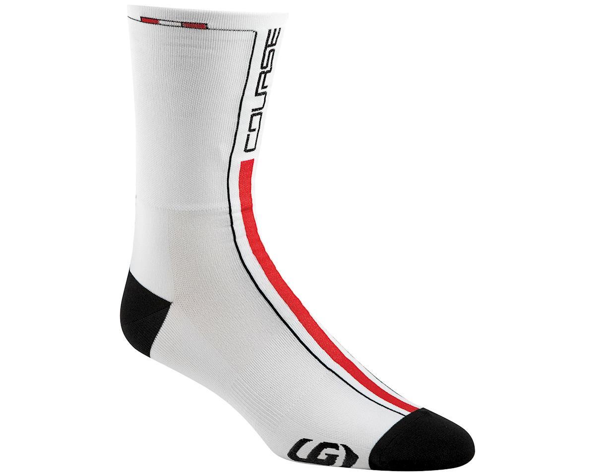 Course Sock: White/Black/Ginger LG/XL