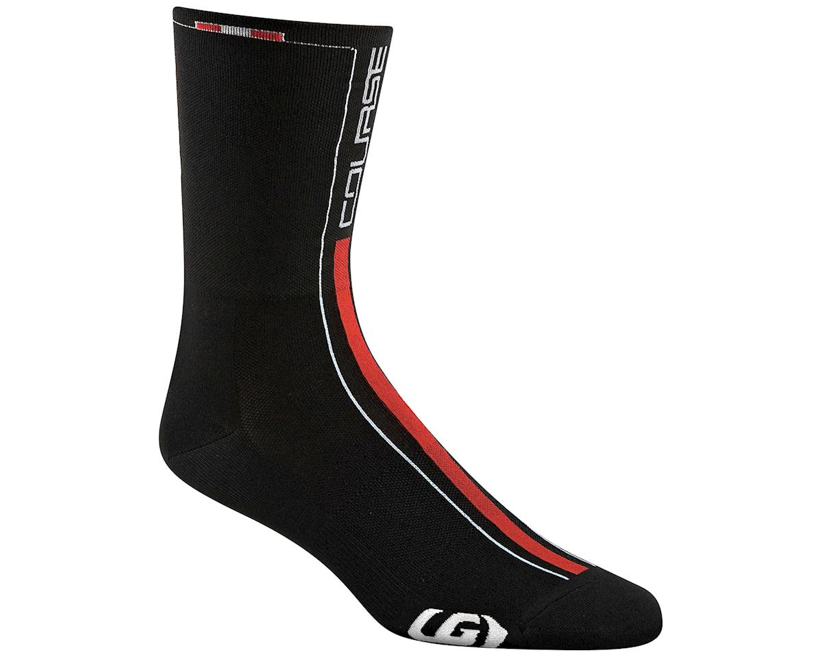 Louis Garneau Course Socks (Matte Black/High Vis) (S/M)