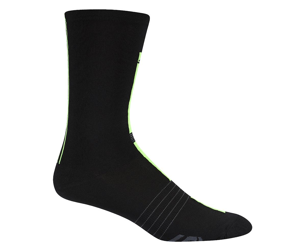 Louis Garneau Tuscan X-Long Socks (Black/Hi-Viz)