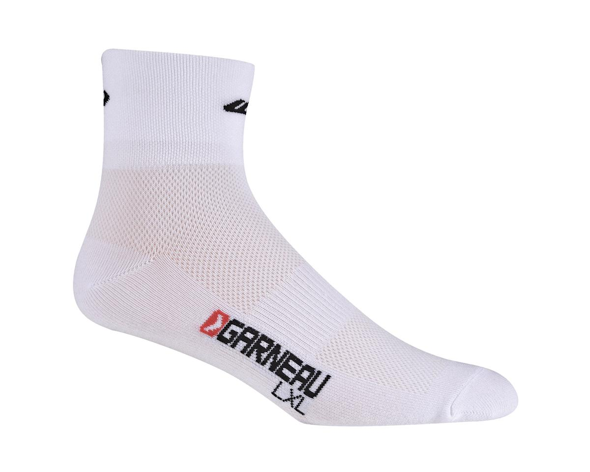 Louis Garneau Low Versis Socks (White) (3 Pairs)