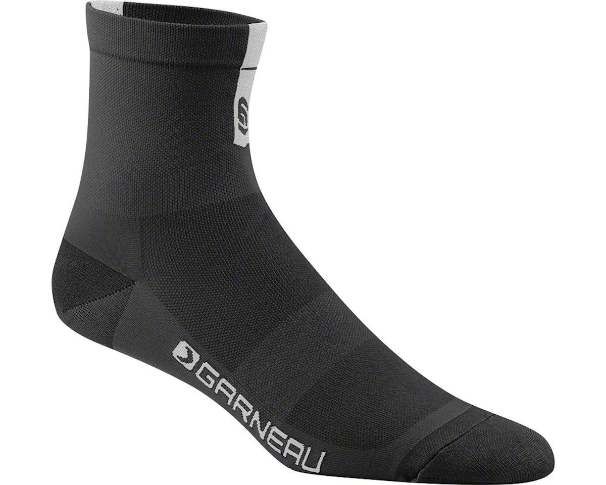 Louis Garneau Conti Cycling Socks (Black/Grey)