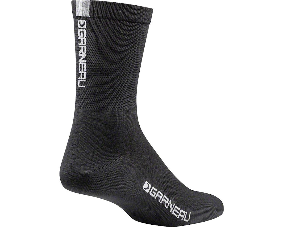 Louis Garneau Conti Long Cycling Socks (Black/Grey) (L/XL)