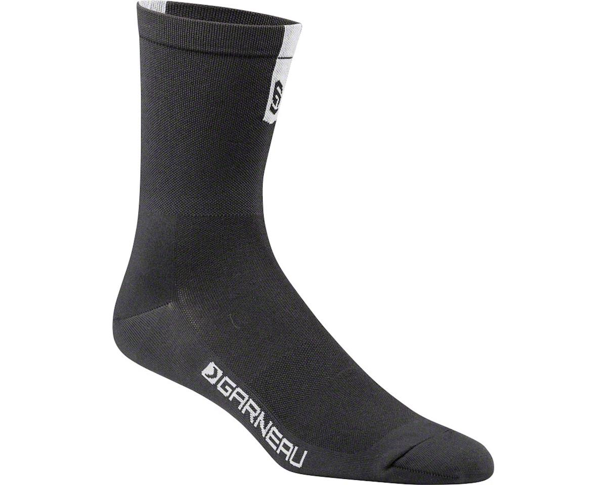 Louis Garneau Conti Long Socks (Black/Grey)