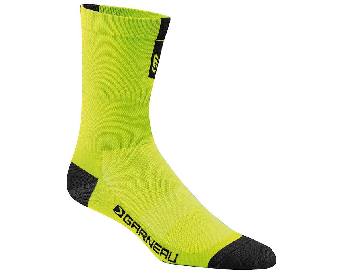 Louis Garneau Conti Long Socks (Yellow/Black) (S/M)