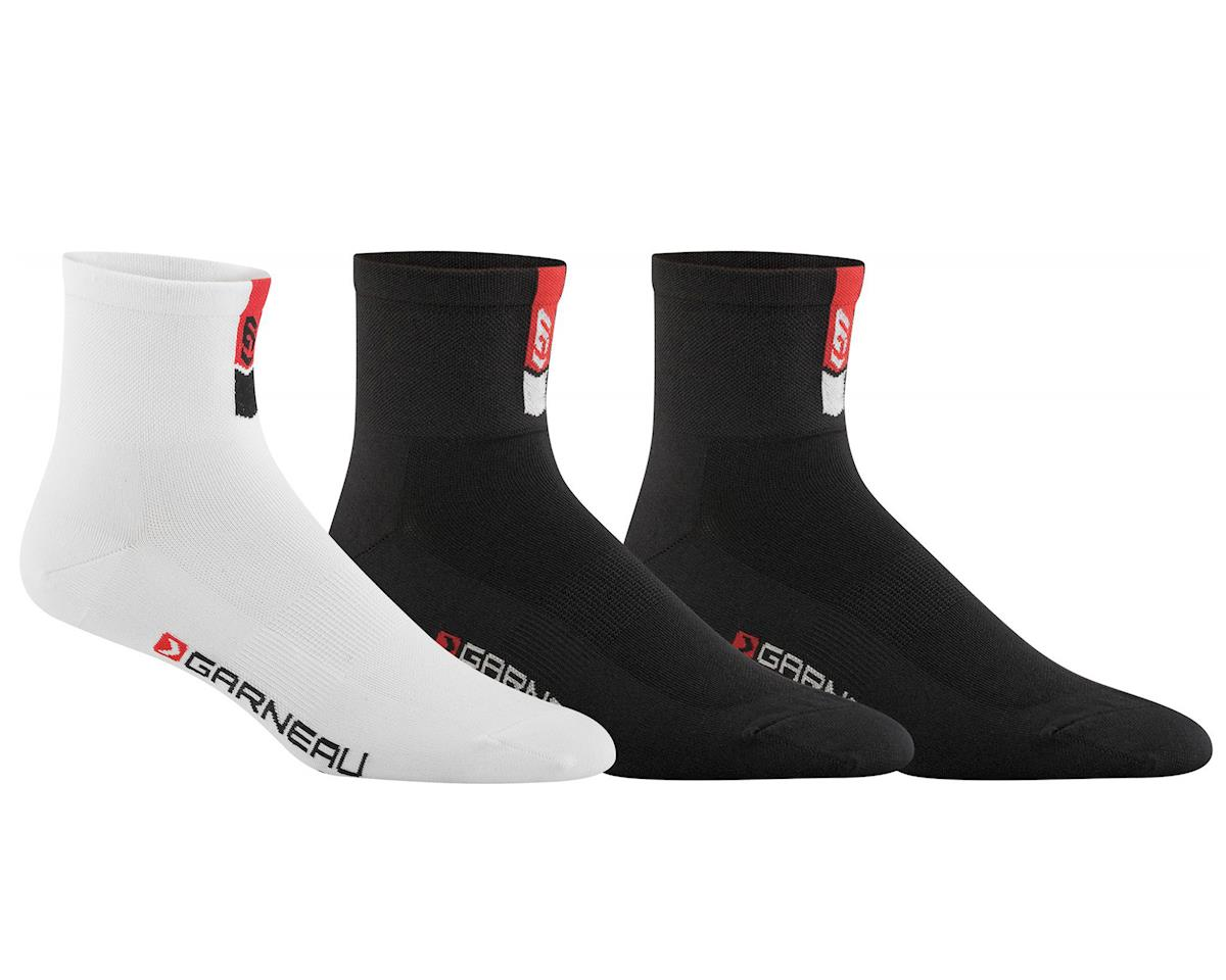 Louis Garneau Conti Socks (3-Pack) (Multi-color) (S/M)