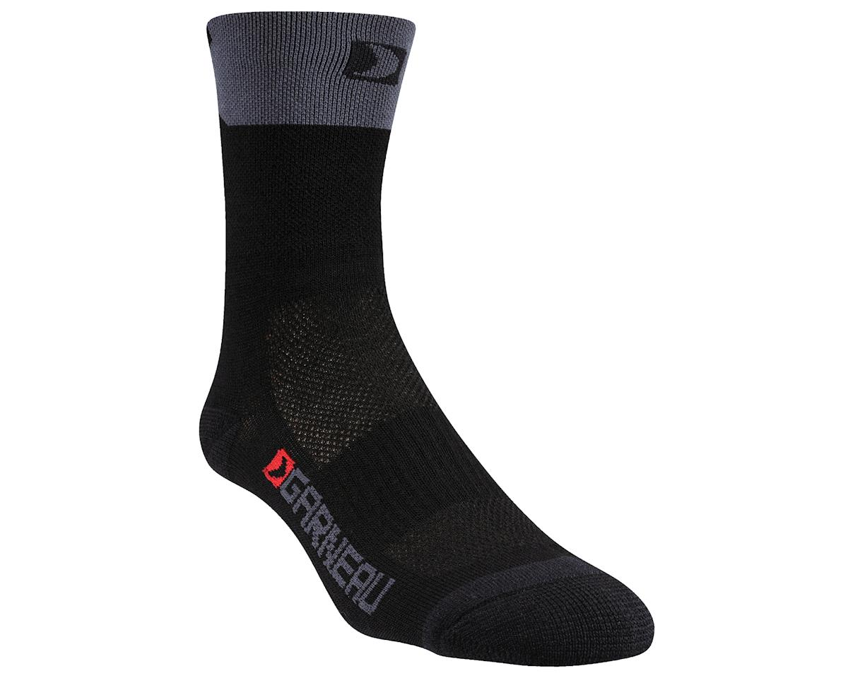 Louis Garneau Merino 60 Socks (Black/Red) (L/Xl)