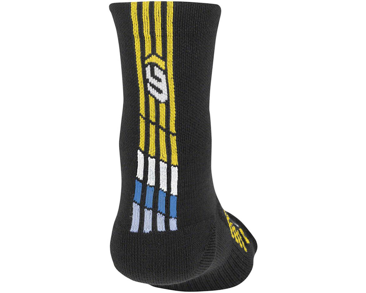 Louis Garneau Merino 30 Socks (Black/Blue) (S/M)