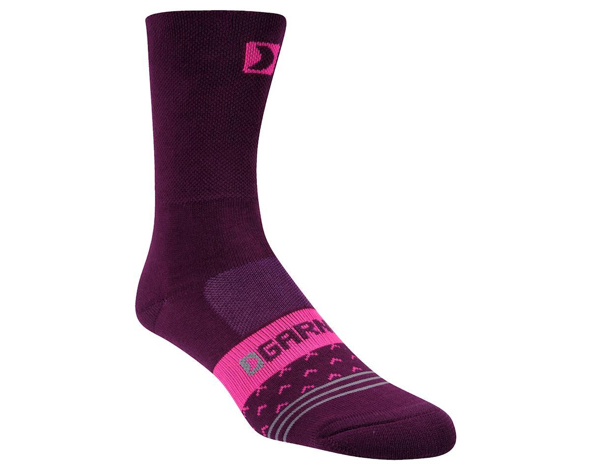 Louis Garneau Women's Merino 60 Socks (Magenta Purple) (L/XL)