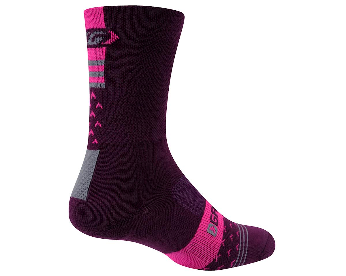 Louis Garneau Women's Merino 60 Socks (Magenta Purple)
