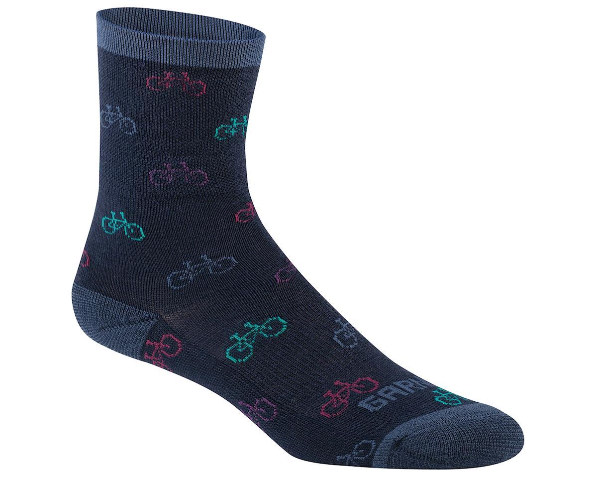 Louis Garneau Women's Merino 60 Socks (Dark Night) (S/M)