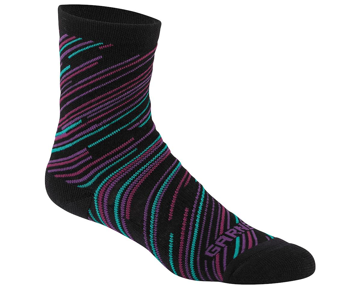 Louis Garneau Women's Merino 60 Socks (Black/Cricket)