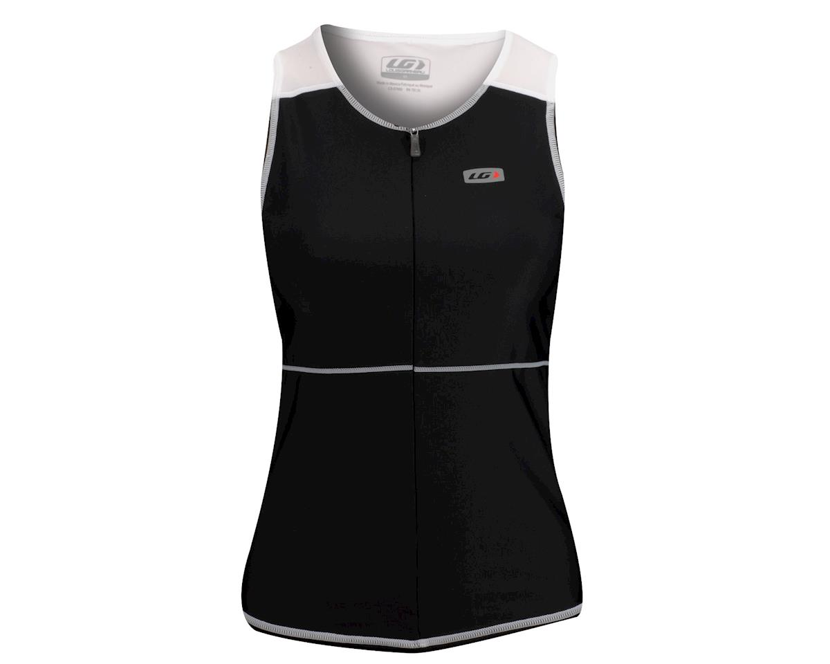 Louis Garneau Women's Comp Tri Tank (Black/White)