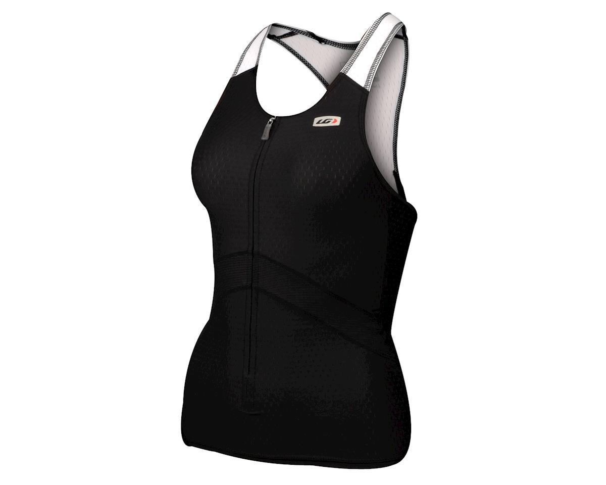 Louis Garneau Women's Pro T-Back Tri Tank (Black)